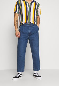 Wrangler - PLEATED  - Jeans baggy - phelps blue
