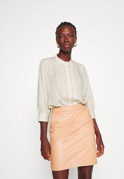 Selected Femme Tall - SLFMARIANNA 3/4 - Camisa - sandshell