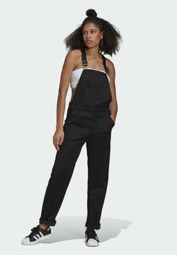 adidas Originals - DUNGAREE - Salopette - black