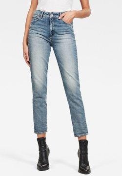 G-Star - 3301 HIGH STRAIGHT 90'S ANKLE - Jeans Slim Fit - vintage sailor blue