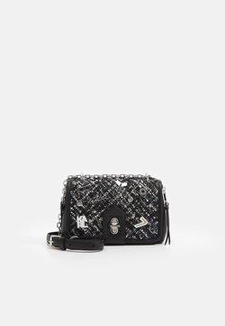 KARL LAGERFELD - STUDIO PINS - Handtasche - black