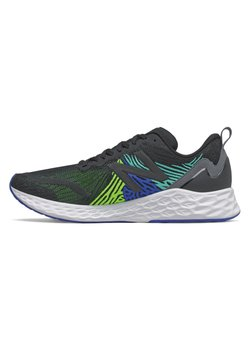 New Balance - FRESH FOAM TEMPO - Zapatillas de running neutras - black/energy lime/cobalt blue