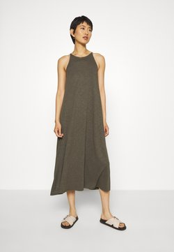 Madewell - CAMI DRESS - Maxikleid - dried olive