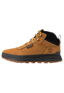 Timberland - FIELD TREKKER MID - Bottines à lacets - wheat/black