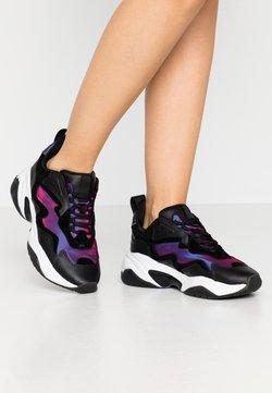 Tamaris Fashletics - LACE UP - Sneakers laag - black