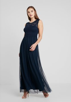 Vila - VILYNNEA MAXI DRESS - Vestido de fiesta - total eclipse