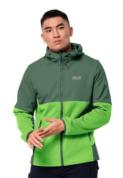Jack Wolfskin - Softshelljacke - leaf green