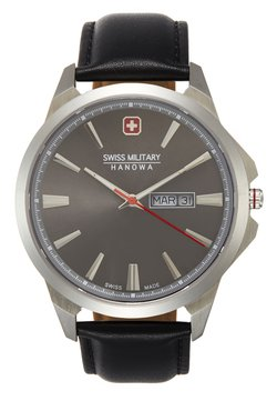 Swiss Military Hanowa - DAY DATE CLASSIC - Montre - lightgrey/black
