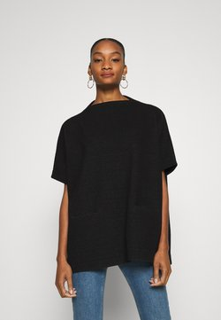 Opus - AMBERLEY LITTLE CHECK - Cape - black