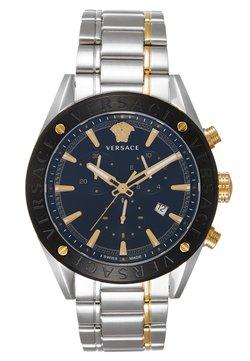 Versace Watches - Rannekello ajanottotoiminnolla - silver-coloured