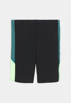 Speedo - DIVE JAMMER - Costume da bagno - black/swell green/zest green