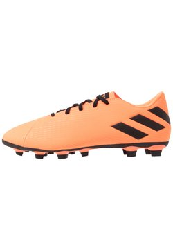 adidas Performance - NEMEZIZ 19.4 FXG - Fußballschuh Nocken - signal coral/core black/solar red