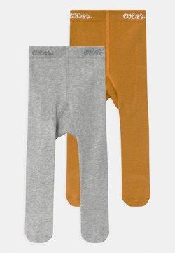 Ewers - 2 PACK UNISEX - Panty - herbstgold/grau