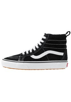 Vans - SK8 MTE UNISEX - Korkeavartiset tennarit - black/true white