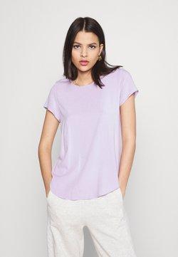 Vero Moda - VMBECCA PLAIN - Camiseta básica - pastel lilac