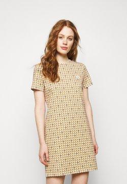 Tory Burch - BASKETWEAVE DRESS - T-Shirt print - buttermilk