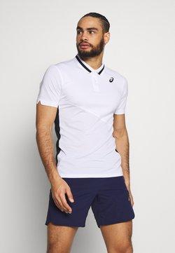 ASICS - CLUB POLO - Funktionsshirt - brilliant white