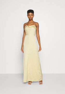 Nly by Nelly - WATERFALL MERMAID GOWN - Festklänning - light yellow