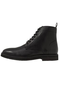Walk London - LACE UP BOOT - Schnürstiefelette - black