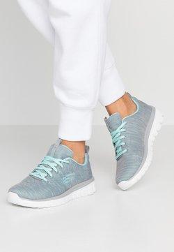 Skechers Sport - GRACEFUL - Sneaker low - gray/mint