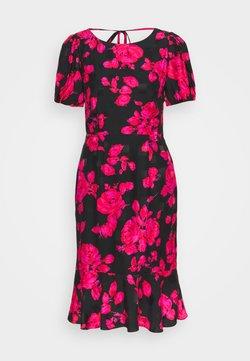 Milly - KATIA ROSE ON DRESS - Freizeitkleid - black/red