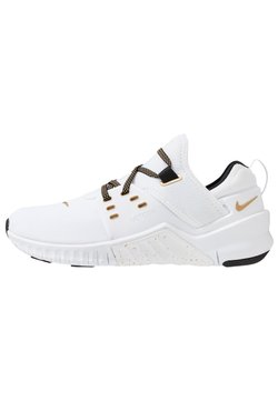Nike Performance - FREE METCON  - Trainings-/Fitnessschuh - white/metallic gold/black