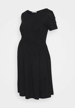 Anna Field MAMA - NURSING Jersey dress - Vestido ligero - black