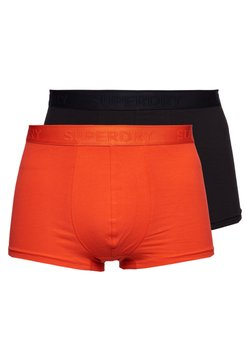 Superdry - 2 PACK - Shorty - black/havana orange