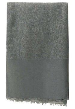 Massimo Dutti - MIT LAMÉFÄDEN - Schal - dark grey