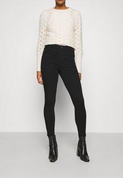 American Eagle - SUPER HI RISE JEGGING DREAM  - Jeans Skinny Fit - onyx black