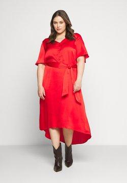 Kaffe Curve - DUNE DRESS - Maxi dress - high risk red
