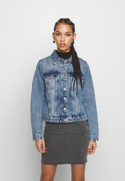 Pieces - PCLOU JACKET - Veste en jean - light blue denim