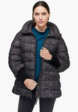 s.Oliver BLACK LABEL - Winterjacke - black aop