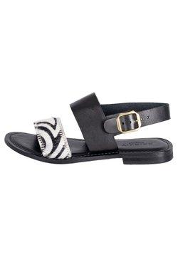 Crickit - SOFIA - Riemensandalette - schwarz zebra