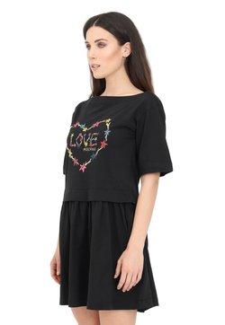 Love Moschino - Vestito di maglina - black