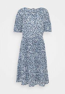 ONLY Tall - ONLPELLA OPEN BACK DRESS - Jerseykleid - vintage indigo