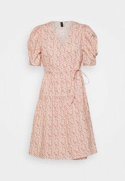 YAS - YASRICCA WRAP DRESS - Kjole - roseate spoonbill/ricca