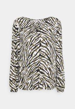 comma casual identity - BLUSE LANGARM - Bluse - zebra