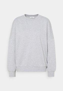 Even&Odd - OVERSIZED CREW NECK SWEATSHIRT - Collegepaita - mottled light grey