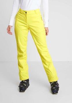 Ziener - TALPA LADY - Snow pants - yellow power