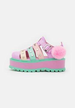 Koi Footwear - VEGAN NYOKA  - Sandały na platformie - rainbow
