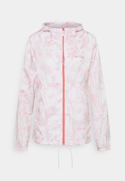 Columbia - FLASH FORWARD PRINTED - Outdoorjacke - white