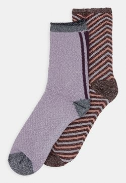 Becksöndergaard - TWISTY DARYA SOCK 2 PACK - Sokken - fudge