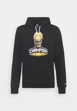 Champion - HOODED  - Felpa - black