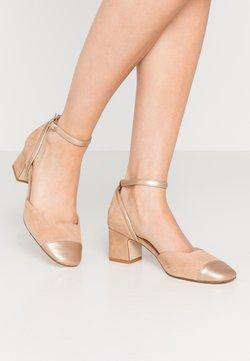 Anna Field - LEATHER PUMPS - Pumps - nude