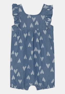 Carter's - CHAMBRAY HEART - Jumpsuit - blue