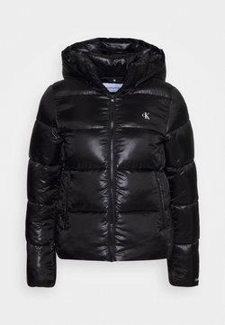 Calvin Klein Jeans - SHINY PUFFER - Vinterjacka - black