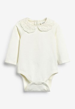 Next - PINK LACE COLLAR BODY (0MTHS-3YRS) - Body - off-white