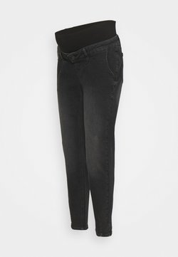 MAMALICIOUS - MLHOUSTON SLOUCHY - Jeans Relaxed Fit - black denim