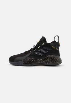 adidas Performance - ROSE BOUNCE SPORTS BASKETBALL SHOES UNISEX - Zapatillas de baloncesto - black